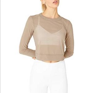 ALO Yoga Tops - Alo Yoga Amuse Long Sleeve M